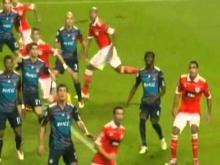Benfica 4 Lyon 3 (Champions League - 02 11 10)