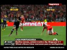 Resumo 25ª Jornada, SL Benfica 2-1 SC Braga