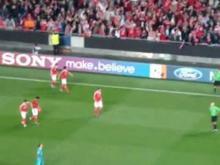 Golo Benfica-Zenit