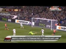 Tottenham 1 - 3 Benfica Goals and Highlights [HD]