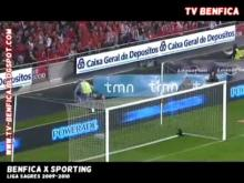 benfica 2 sporting 0 2009 2010