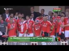 Benfica vence Taça de Portugal 2014: Luisão ergue o troféu!