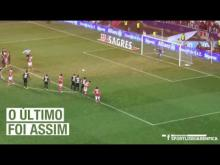 SL Benfica X Académica - O último foi assim