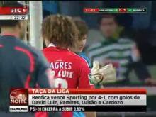 Sporting 1 - 4  Benfica Taça da liga