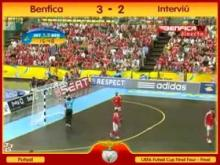 Futsal Benfica 3-2 Interviu Madrid.Os Golos. Benfica Campeao Europeu by JJD 25-04-10.mp4