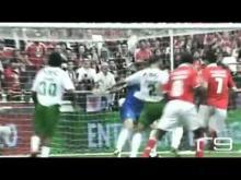 Benfica 2 1 Rio Ave com relato   Campeão Nacional 2009 2010 HD