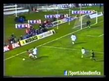 Taça dos Campeões 1989/1990 -- 2ª Mão - Benfica 1-0 Marselha