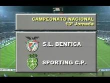 Benfica-Sporting - Campeonato Nacional 93/94 - 13ª Jornada