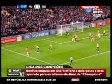Liga dos Campeões 5.ª Jornada - Manchester United 2-2 SL Benfica