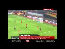 Liga Europa - Bayer Leverkusen 0--1 SL Benfica