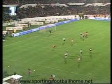 Benfica - 3 Sporting - 0 de 2000/2001
