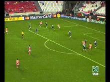 Gol Miccoli (1-0) Benfica 1 - Lille 0